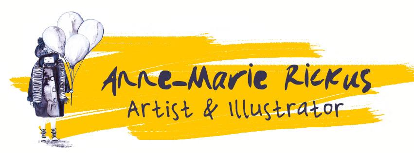 Anne-Marie Rickus - Artist&Illustrator Logo